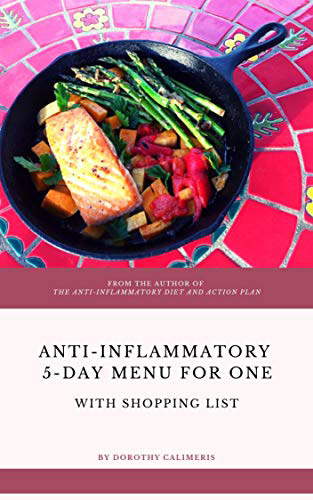 Anti-inflammatory 5 day menu for one book cover