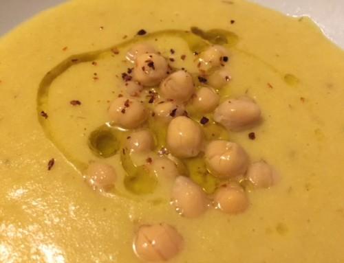 Recipe: Turmeric Garbanzo Bean Soup
