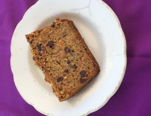 Recipe: Zucchini Carrot Bread with Chocolate and Ginger