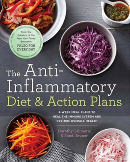 The Anti-Infammatory Diet & Action Plans book cover.