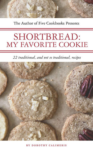 Shortbread: My Favorite Cookie available on Amazon.