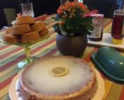 image of lemon yogurt cake