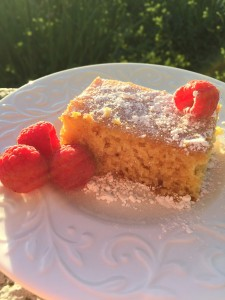 Mango Pound Cake is one of Claire's favorites