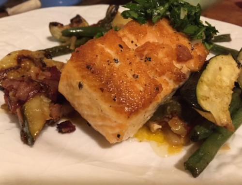 Recipe: Pan Fried Salmon