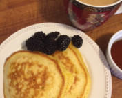 Image of pancakes with berries