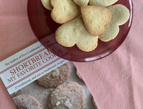Shortbread Cookies For Valentine's Day